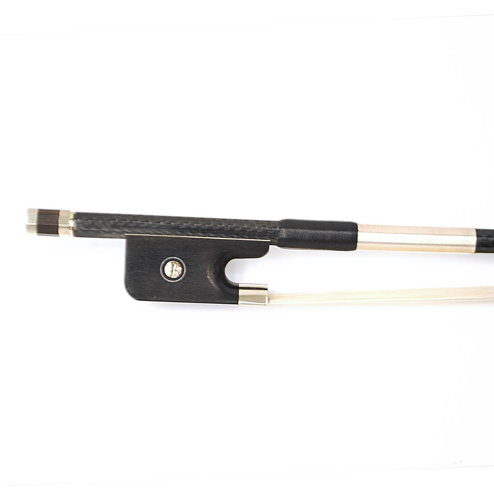 Carbon Pro Cello Bow – White Horsehair