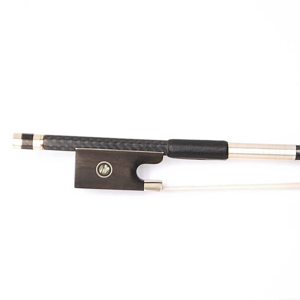 Carbon Pro Violin Bow – White Horsehair